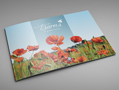 Marketing Brochure for New Development at The Barns