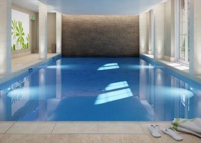 Swimming Pool Internal CGI
