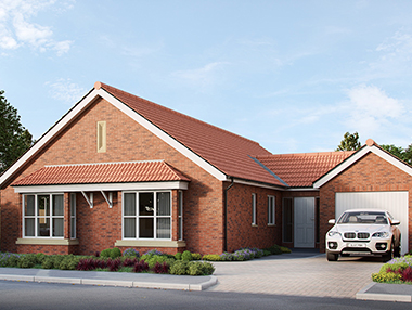 Bungalow External Rendering