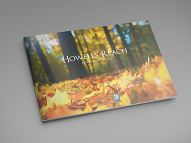 Printed Brochure for Luxury New Homes