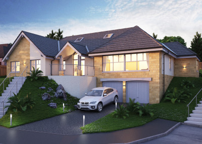 House Type External Renders