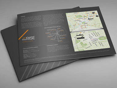 Marketing Brochure for South London Development