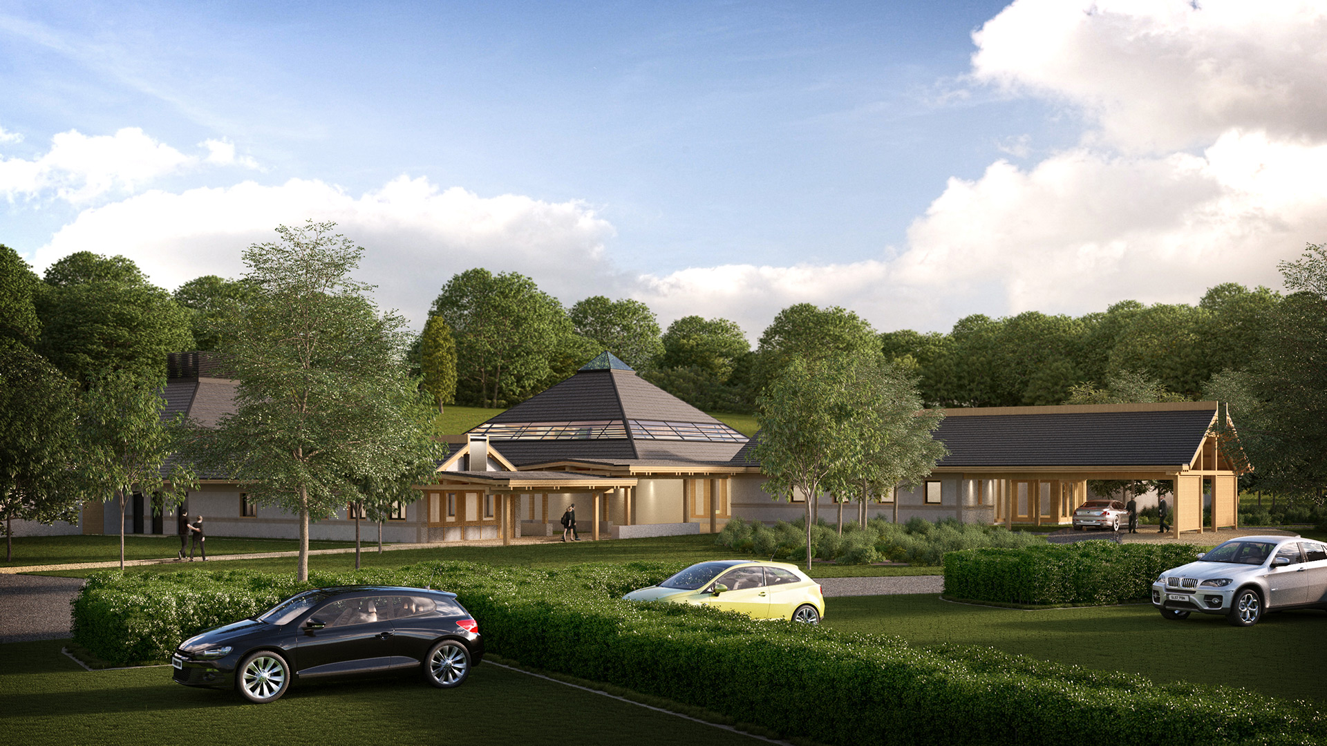 Planning CGI for New Crematorium