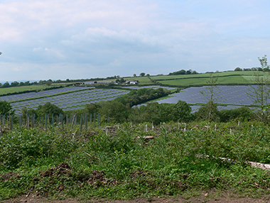 Proposed New Solar Farm Photomontages