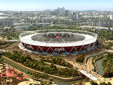 West Ham Stadium CGIs & Animations